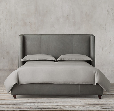 CAMA BELMONT LEATHER BED